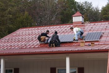Solar Panels Going Up in Salisbury-Rowan