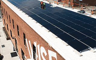 Brewed with the sun: Wise Man goes solar