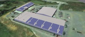 solar warehouse visualization