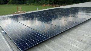 solar installation sign business