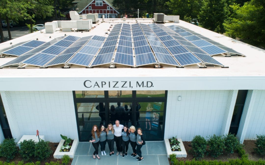 Charlotte cosmetic surgery practice gets a solar lift