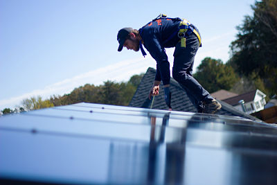 First Purple Heart Home in North Carolina Built with Solar