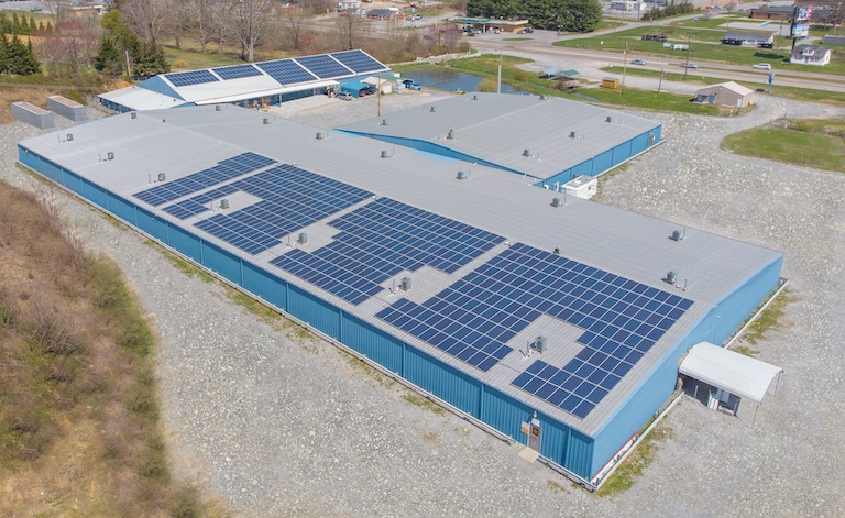 Furniture Wholesale Business Goes Green, Owner Goes Solar