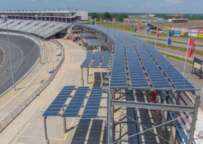 solar at charlotte motor speedway