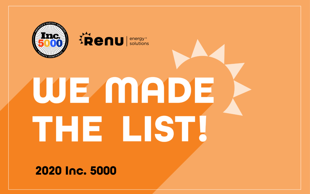inc 5000 list renu energy solutions