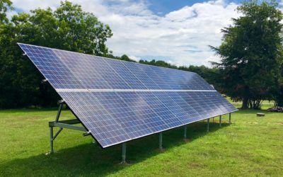 Benefits of Ground Mounted Solar Panels